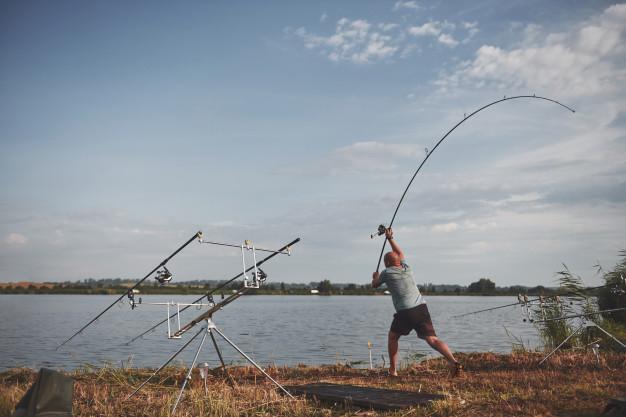 fiske fra land