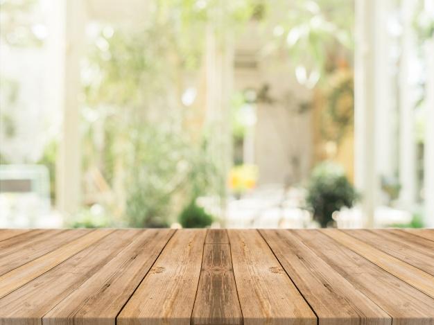egetræs spisebord